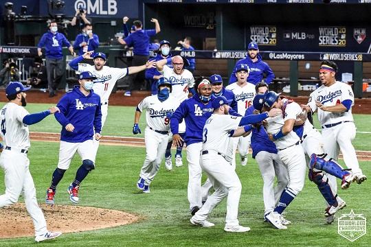 LA 다저스, 템파베이에 3-1 승리…32년만의 월드시리즈 제패